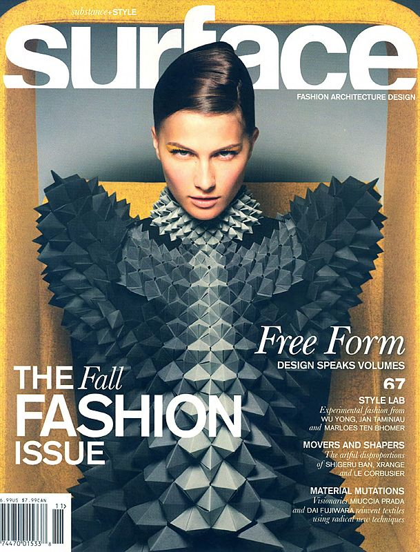 2007 fall. Surface. Fashion / Architecture / Design, USAMiyake Madison New York