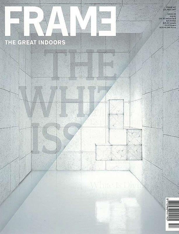 2007.07 Frame, The NetherlandsLe Blanc et le Noir. Gordon Kipping Shop