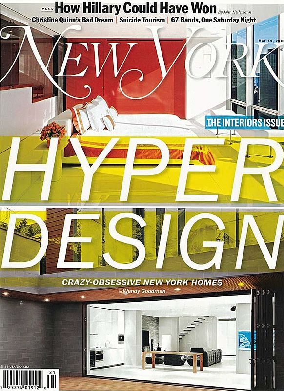 2008.05.19 New York Magazine, USAHyper Design. Crazy-obsessive New York Homes