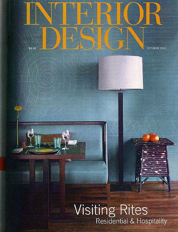 2001.10 Interior Design, USAShe's Back. Diane von Furstenberg celebrates her re-emergence on the fashion scene